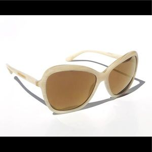 NWT Dolce & Gabbana 59mm pearl mirrored sunglasses